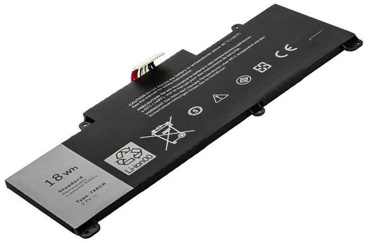 Battery for Dell 074XCR laptop