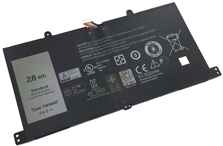 Battery for Dell 7WMM7 laptop
