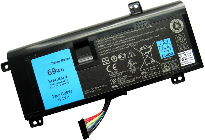 Battery for Dell 0G05YJ laptop