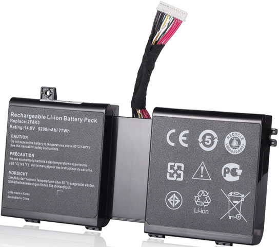 Battery for Dell 0KJ2PX laptop