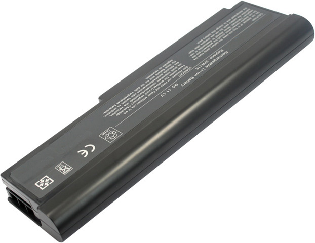 Battery for Dell 312-0584 laptop