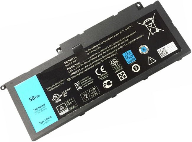 Battery for Dell 89JW7 laptop