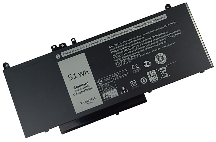 Battery for Dell R0TMP laptop