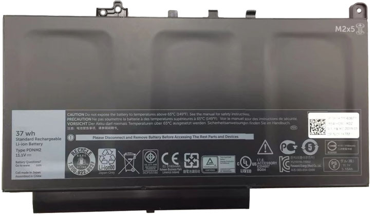 Battery for Dell F1KTM laptop
