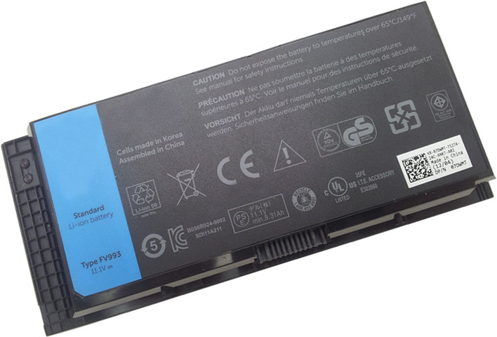 Battery for Dell Precision M6700 Mobile WorkStation laptop