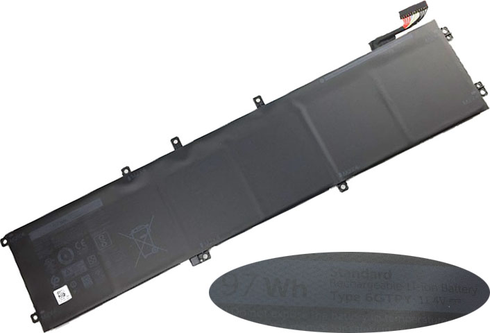 Battery for Dell XPS 15-9560-D1645 laptop