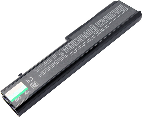 Battery for Dell P02E001 laptop